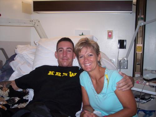 2005-Jeremy & Cindy at Walter Reed